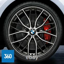 New Genuine Bmw 20 405 M Sport Double Spoke Alloy Wheels Tyres 3 4 Series F30