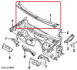 New Genuine Bmw 3 Series E46 Coupe Windshield Wiper Motor Assembly Cover Rhd