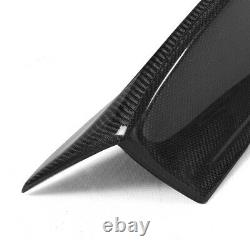 REAL Carbon Fiber Rear Trunk Spoiler Wing for BMW E46 3 Series & M3 Coupe 00-06