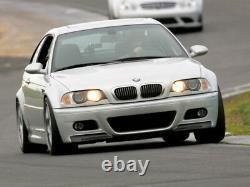 Real Carbon Fibre Front Bumper Splitter Spoiler For BMW 3 Series E46 M3 CSL Look