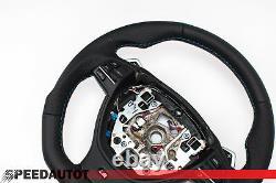 Tausch Tuning Abgeflacht Lederlenkrad für BMW M-POWER SMG F10 F11 F12 F13
