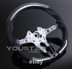 UK STOCK Genuine CARBON Alcantara Flat Steering Wheel for BMW F10 F12 F06 M5 M6